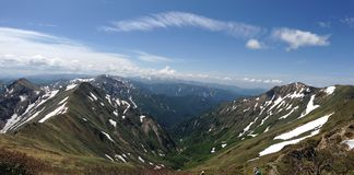 Valles y cantos Imagen de archivo