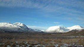 Valles y montañas Foto de archivo libre de regalías