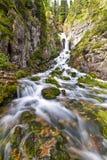 Vallesinella falls. Falls in the natural park of Adamello Brenta Stock Photography