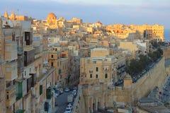 Valleta, capital de Malte Images stock