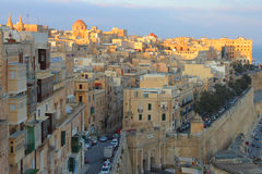Valleta, capital of Malta Stock Images