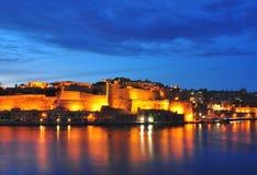 Valleta at night Stock Images
