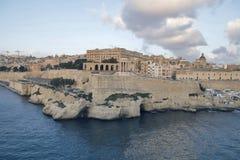 Valletta - η πρωτεύουσα της Μάλτας Στοκ Εικόνες