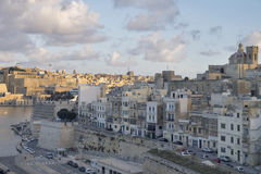 Valletta - η πρωτεύουσα της Μάλτας Στοκ φωτογραφίες με δικαίωμα ελεύθερης χρήσης
