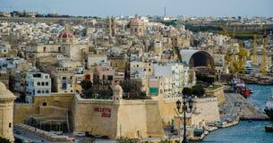 Valletta, Μάλτα - τον Ιούνιο του 2018: Ευρωπαϊκή πολιτιστική πρωτεύουσα, 2018 στοκ φωτογραφίες