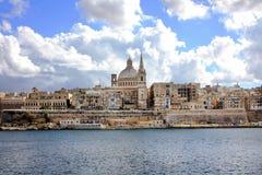 Valletta, Μάλτα Στοκ Εικόνες