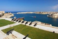 valletta της Μάλτας Στοκ Εικόνα