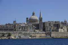 valletta της Μάλτας Στοκ Εικόνες