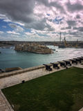 valletta της Μάλτας Στοκ Φωτογραφία