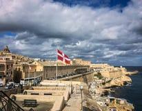 valletta της Μάλτας Στοκ Φωτογραφίες