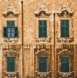 Valletta. Details in Valletta, Malta, Europe Royalty Free Stock Photography