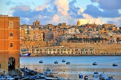 Valletta-alte Stadt, Malta Stockfoto