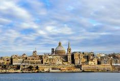Valletta-alte Stadt, Malta Lizenzfreie Stockbilder