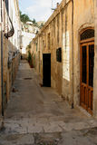 Valletta backstreet Stock Photo