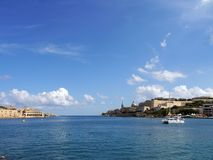 Valletta Bay Royalty Free Stock Images