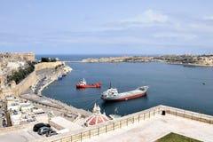 Valletta Bay royalty free stock photography