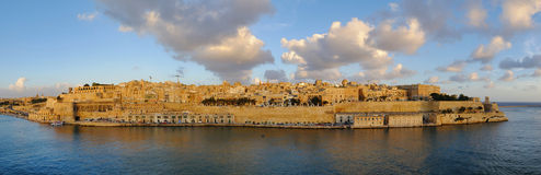 Valletta - the capital of Malta royalty free stock photos