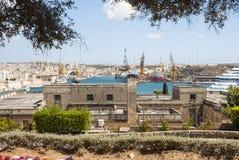 Valletta, capital of Malta Royalty Free Stock Photos