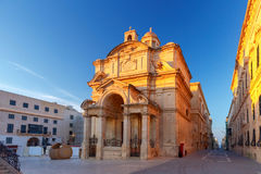 Valletta. Church of St. Catherine. Royalty Free Stock Image