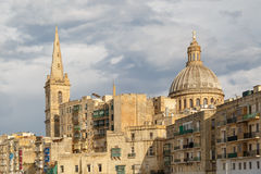 Valletta Church View Royalty Free Stock Image