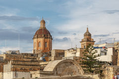 Valletta Church View Stock Photos