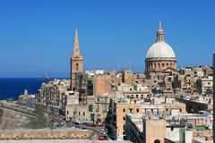 Valletta City Stock Images