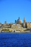 Valletta city. Scape, the vertical shot Royalty Free Stock Images