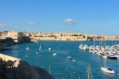 Panorama of Valletta, Malta royalty free stock photo