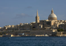 Valletta city skyline Stock Image