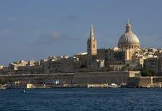 Valletta city skyline Stock Image
