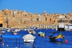 Valletta cityscape Stock Images
