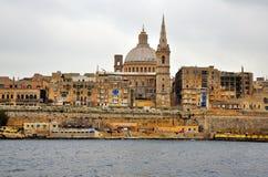 Valletta cityscape Stock Image