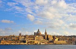 Valletta cityscape Royalty Free Stock Images