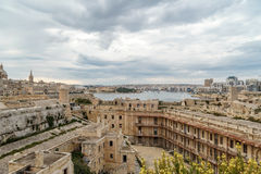 Valletta Cityscape View Royalty Free Stock Photos