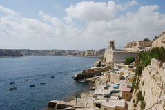 Valletta Coast Stock Image