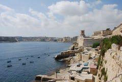 Valletta Coast Stock Image