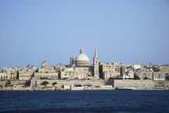 Valletta, das Kapital von Malta Stockbild