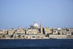 Valletta, el capital de Malta imagen de archivo