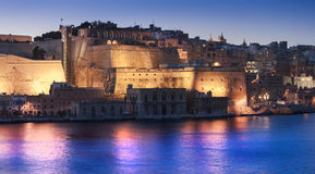 Valletta fortification Royalty Free Stock Photography