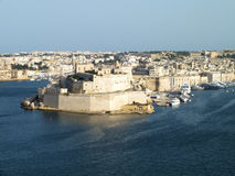 Valletta Fortifications Royalty Free Stock Images