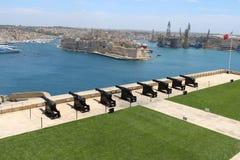 8 Valletta-Gewehre Stockfotos