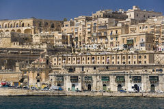 Valletta from the Grand Harbor - Malta stock image