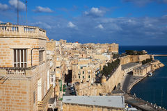 Valletta and Grand Harbour Stock Photos