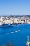 Valletta Harbor, Malta Stock Photo