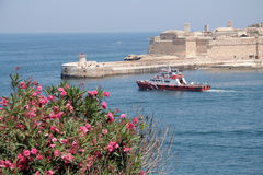 Valletta harbor, Malta Royalty Free Stock Photography