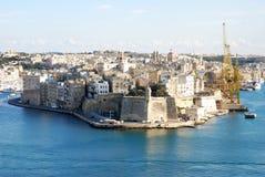 Valletta harbour Stock Photos