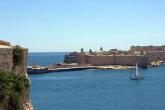 Valletta harbour Royalty Free Stock Images