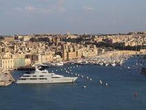 Valletta Harbour Malta Stock Photos