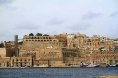 Valletta, Hauptstadt von Malta Lizenzfreie Stockfotos