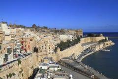 Valletta, Hauptstadt von Malta Lizenzfreies Stockbild